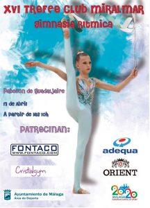 Trofeo gimnasia rítmica Malaga
